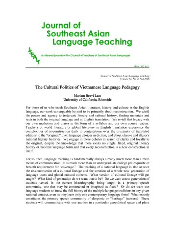 Between two cultures struggles of vietnamese american the cultural politics of vietnamese pedagogy pdf seasite fandeluxe Image collections