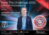 Face The Challenge 2012: Dental Innovations - Henry Schein