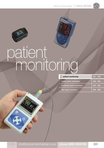 18. Patient Monitoring - Henry Schein