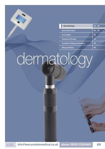 7. Dermatology - Henry Schein