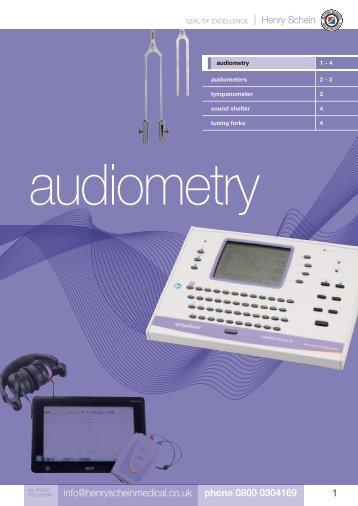 2. Audiometry - Henry Schein