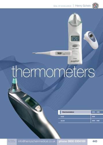 27. Thermometers - Henry Schein
