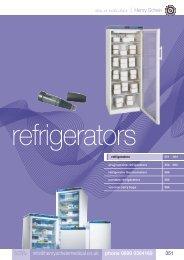 21. Refrigerators - Henry Schein