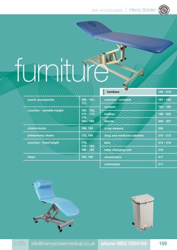 12. Furniture - Henry Schein