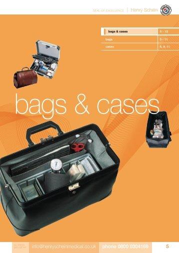 3. Bags & Cases - Henry Schein