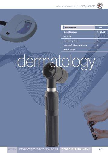 6. Dermatology - Henry Schein