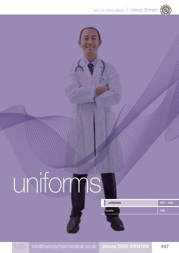 28. Uniforms - Henry Schein