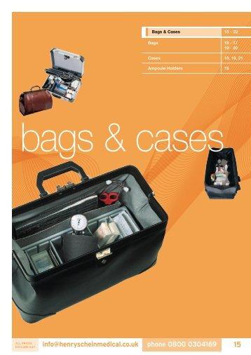 4. Bags & Cases - Henry Schein