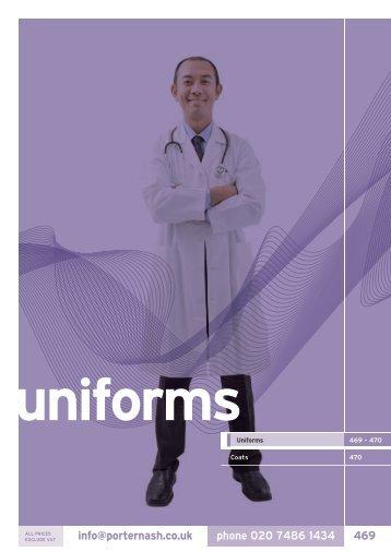 29. Uniforms - Henry Schein