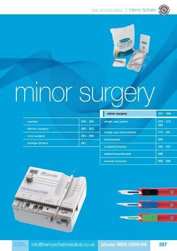15. Minor Surgery - Henry Schein