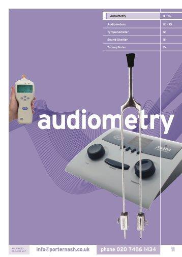 3. Audiometry - Henry Schein