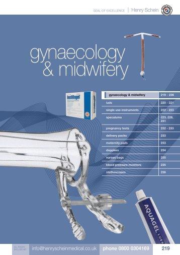 13. Gynaecology & Midwifery - Henry Schein