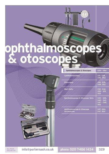 ophthalmoscopes & otoscopes - Henry Schein