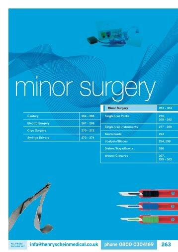 Minor Surgery - Henry Schein
