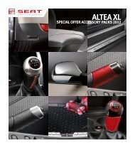 ALTEA XL - Seat