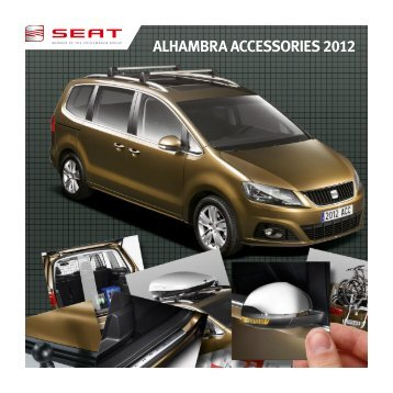 ALHAMBRA ACCESSORIES 2012 - Seat