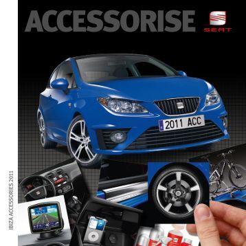 Ibiza Accessory Brochure - Seat