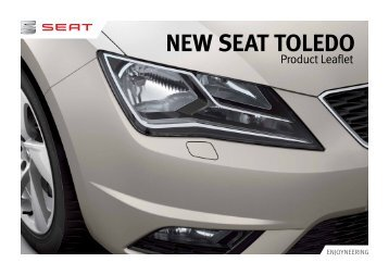 New SEAT Toledo Product Leaflet (3.0MB)