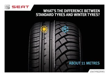 WHAT'S THE DIFFERENCE BETWEEN STANDARD TYRES ... - Seat