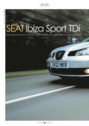 SEAT Ibiza Sport TDi - SEATCupra.net
