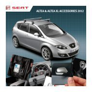 ALTEA & ALTEA XL ACCESSORIES 2012 - Seat