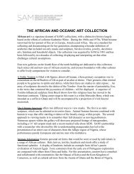 the african and oceanic art collection - Seattle Art Museum