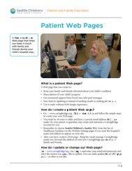 PI704 Patient Web Pages