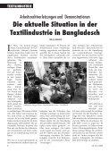 TExTILInDuSTRIE - NETZ eV Partnerschaft für Entwicklung und ... - Seite 6