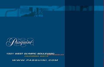 Pasquini Livia 90 Brochure / User Manual - The Coffee Bump