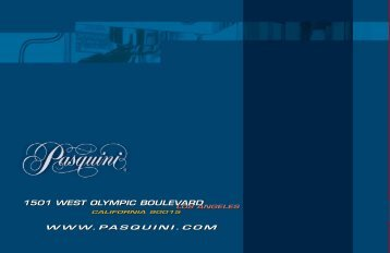 Pasquini Livia 90 Brochure / User Manual - The Coffee Bump