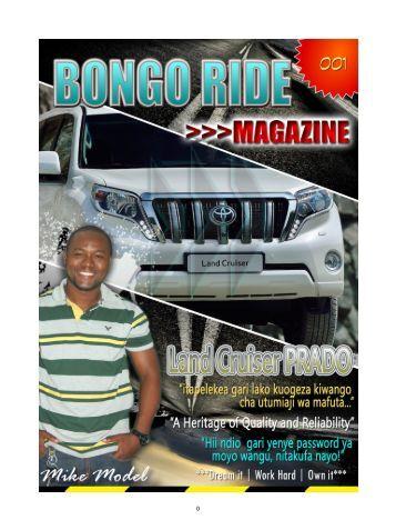 Bongo Ride Online Magazine