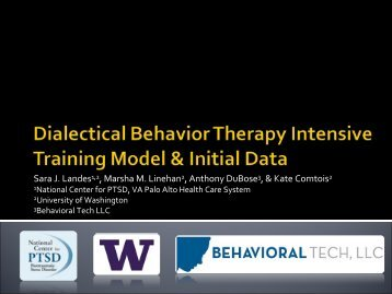 New Directions in DBT - SIRC : Seattle Implementation Research ...