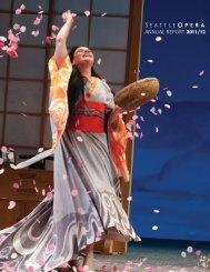 ANNUAL REPORT 2011/12 - Seattle Opera