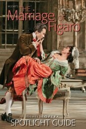 The Marriage of Figaro - Seattle Opera