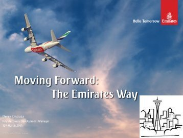 Moving Forward: The Emirates Way - Trade Development Alliance of ...