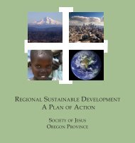 regional sustainable development a plan of action - Seattle University