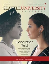 Generation Next - Seattle University