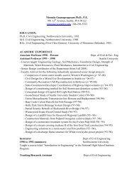 Nirmala Gnanapragasam Ph.D., P.E. 901 12 ... - Seattle University