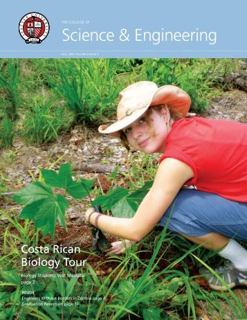 2009 Fall - Science & Engineering Newsletter - Seattle University