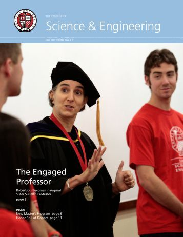 2010 Fall - Science & Engineering Newsletter - Seattle University