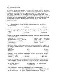 Fragebogen für Eltern der 6. Klassen - seb-liebig.de