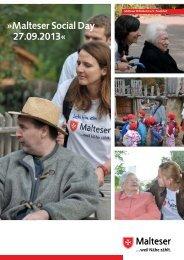 Anmeldeunterlagen für soziale Einrichtungen - Social Day