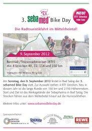 Flyer RTF sebamed Bike Day 2012.indd