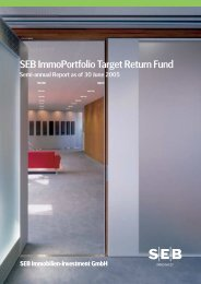 semi-annual report 30 Jun 2005 - SEB Asset Management