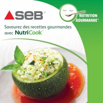 Livre de recette Seb, Nutricook