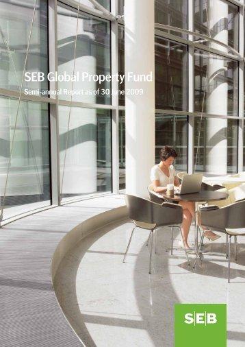 semi-annual report 30 Jun 2009 - SEB Asset Management