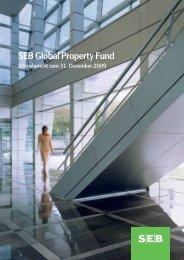 Jahresbericht zum 31.12.2009 - SEB Asset Management