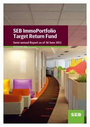 semi-annual report 30 Jun 2011 - SEB Asset Management