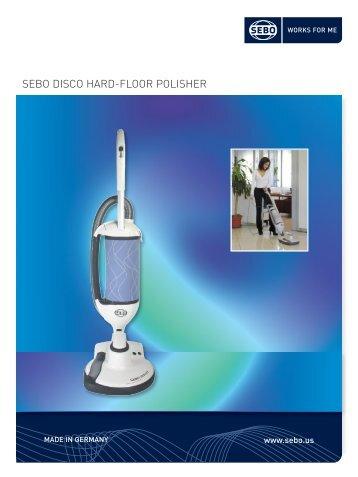 Appliance Brochure FINAL.qxd - SEBO Vacuums