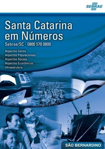 SÃO BERNARDINO - Sebrae/SC